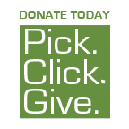 Pick, Click, Give Logo